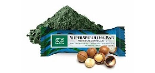 SuperSpirulina Bar with Macadamia Nuts1